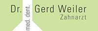 Dr. med. dent. Gerd Weiler